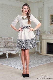 Платья в казахском национальном стиле фото