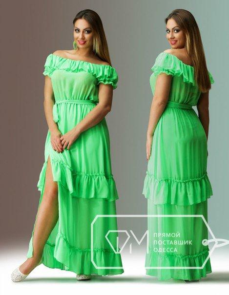 Фото летних платьев 50 размера